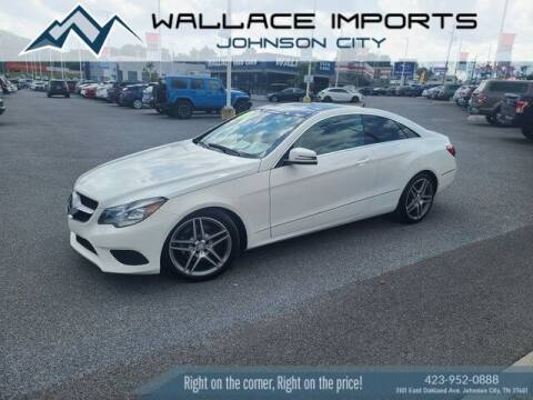 2014 Mercedes-Benz E-Class for sale at WALLACE IMPORTS OF JOHNSON CITY in Johnson City TN