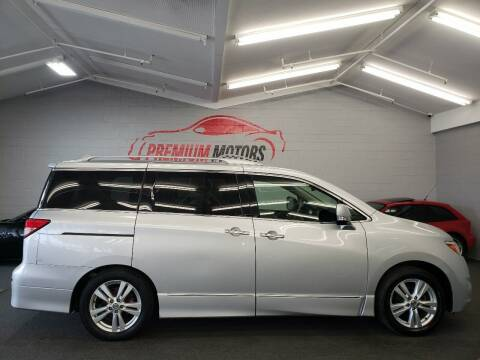 2011 Nissan Quest for sale at Premium Motors in Villa Park IL