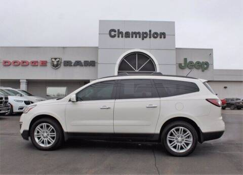2015 Chevrolet Traverse for sale at Champion Chevrolet in Athens AL