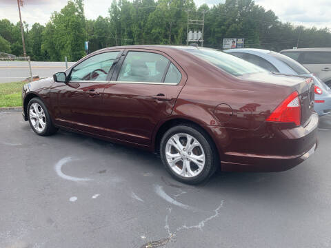 2012 Ford Fusion for sale at Doug White's Auto Wholesale Mart in Newton NC
