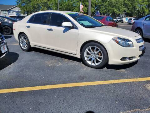 2012 Chevrolet Malibu for sale at Stach Auto in Janesville WI