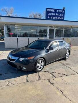 2012 Acura TSX for sale at Right Away Auto Sales in Colorado Springs CO