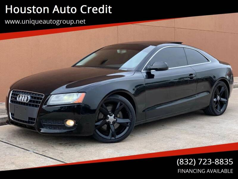 2012 Audi A5 for sale at Houston Auto Credit in Houston TX