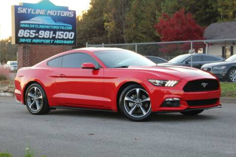 2016 Ford Mustang for sale at Skyline Motors in Louisville TN