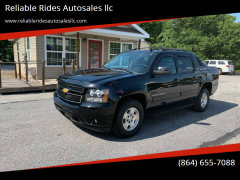 2013 Chevrolet Avalanche for sale at Reliable Rides Autosales llc in Greer SC
