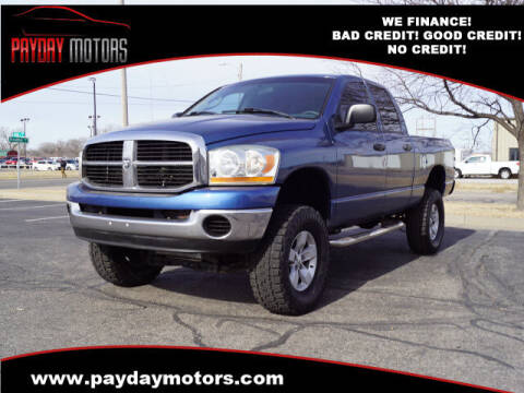 2006 Dodge Ram Pickup 1500 for sale at Payday Motors in Wichita And Topeka KS