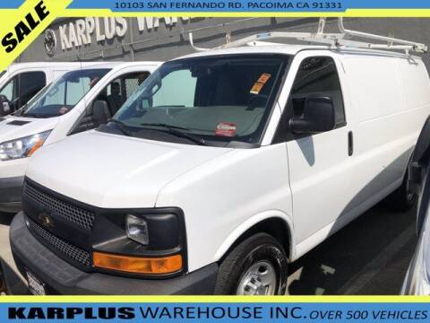 2016 Chevrolet Express Cargo for sale at Karplus Warehouse in Pacoima CA