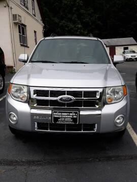 2008 Ford Escape for sale at Sussex County Auto & Trailer Exchange -$700 drives in Wantage NJ