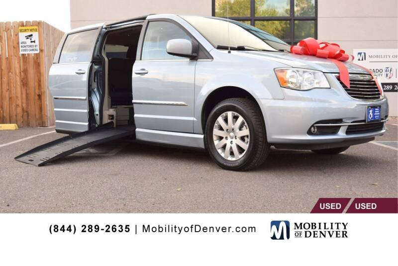 2013 Chrysler Town and Country for sale at CO Fleet & Mobility in Denver CO