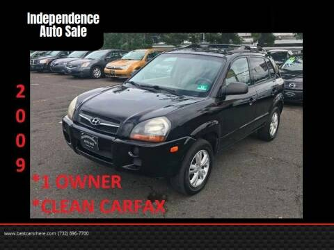 2009 Hyundai Tucson for sale at Independence Auto Sale in Bordentown NJ