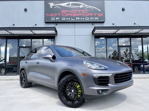 2015 Porsche Cayenne for sale at Exotic Motorsports of Oklahoma in Edmond OK