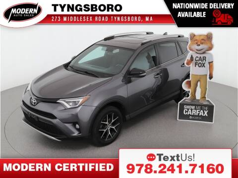 2016 Toyota RAV4 for sale at Modern Auto Sales in Tyngsboro MA