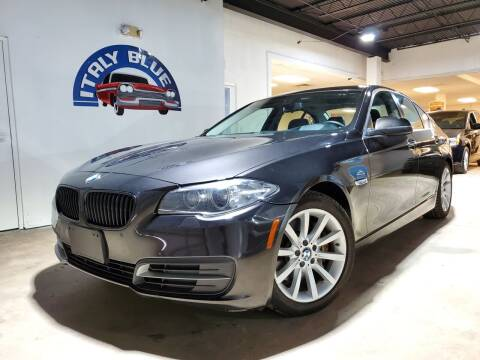 2014 BMW 5 Series for sale at Italy Blue Auto Sales llc in Miami FL