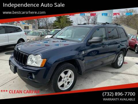 2006 Jeep Grand Cherokee for sale at Independence Auto Sale in Bordentown NJ