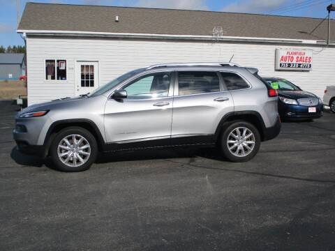 2014 Jeep Cherokee for sale at Plainfield Auto Sales, LLC in Plainfield WI