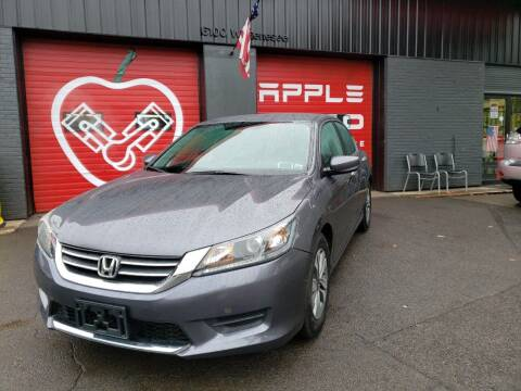 2014 Honda Accord for sale at Apple Auto Sales Inc in Camillus NY