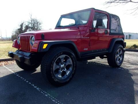 2002 Jeep Wrangler for sale at Unique Auto Brokers in Kingsport TN