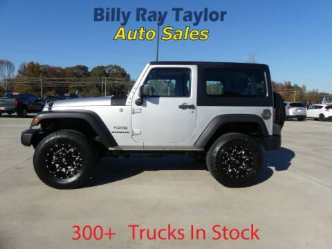 2011 Jeep Wrangler for sale at Billy Ray Taylor Auto Sales in Cullman AL