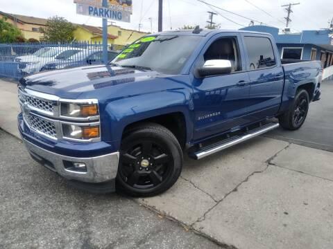 2015 Chevrolet Silverado 1500 for sale at 2955 FIRESTONE BLVD in South Gate CA