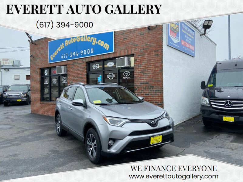 2018 Toyota RAV4 for sale at Everett Auto Gallery in Everett MA
