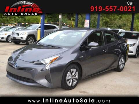 2017 Toyota Prius for sale at Inline Auto Sales in Fuquay Varina NC