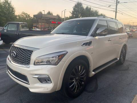 2016 Infiniti QX80 for sale at Viewmont Auto Sales in Hickory NC