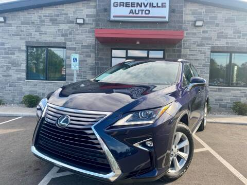 2017 Lexus RX 350 for sale at GREENVILLE AUTO in Greenville WI