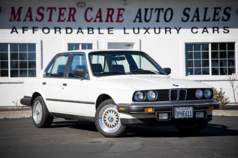 1986 BMW 3 Series for sale at Mastercare Auto Sales in San Marcos CA