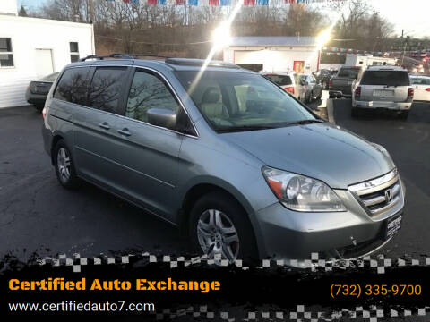 2006 Honda Odyssey for sale at Certified Auto Exchange in Keyport NJ