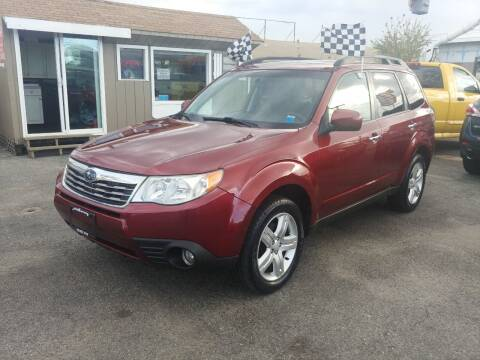 2009 Subaru Forester for sale at Viking Auto Group in Bethpage NY
