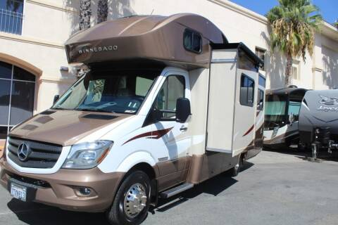 2016 Winnebago M-24G Mercedes Sprinter,Diesel for sale at Rancho Santa Margarita RV in Rancho Santa Margarita CA