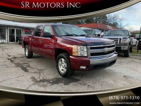 2008 Chevrolet Silverado 1500 for sale at SR Motors Inc in Gainesville GA