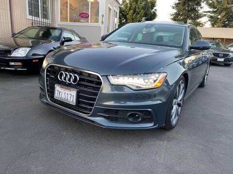 2015 Audi A6 for sale at Ronnie Motors LLC in San Jose CA