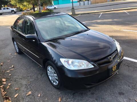 2004 Honda Civic for sale at Bayview Motor Club, LLC in Seatac WA