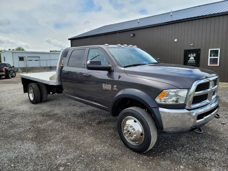 2018 RAM Ram Chassis 5500 for sale at J & S Auto Sales in Blissfield MI