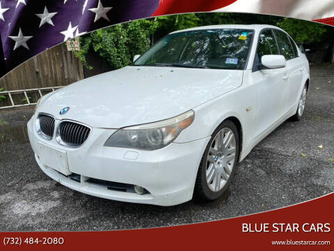 2007 BMW 5 Series for sale at Blue Star Cars in Jamesburg NJ
