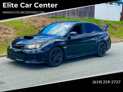 2011 Subaru STI for sale at Elite Car Center in Spring Valley CA