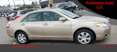 2008 Toyota Camry for sale at Xcelerator Auto LLC in Indiana PA