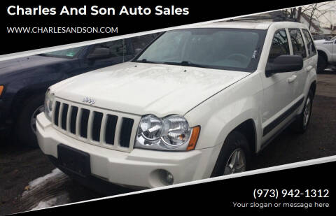 2006 Jeep Grand Cherokee for sale at Charles and Son Auto Sales in Totowa NJ