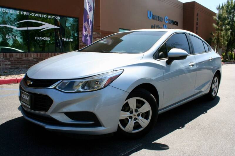 2017 Chevrolet Cruze for sale at CK Motors in Murrieta CA