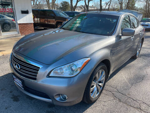 2012 Infiniti M37 for sale at New Wheels in Glendale Heights IL