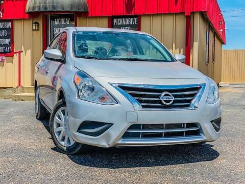2019 Nissan Versa for sale at MAGNA CUM LAUDE AUTO COMPANY in Lubbock TX