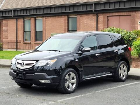 2009 Acura MDX for sale at SEATTLE FINEST MOTORS in Lynnwood WA