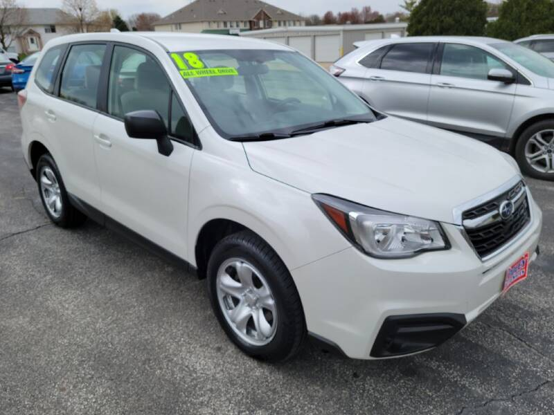 2018 Subaru Forester for sale at Cooley Auto Sales in North Liberty IA