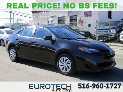 2018 Toyota Corolla for sale at EUROTECH AUTO CORP in Island Park NY