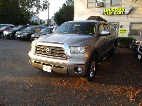 2007 Toyota Tundra for sale at Loudoun Used Cars in Leesburg VA