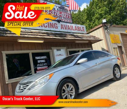 2013 Hyundai Sonata for sale at Oscar's Truck Center, LLC in Houston TX