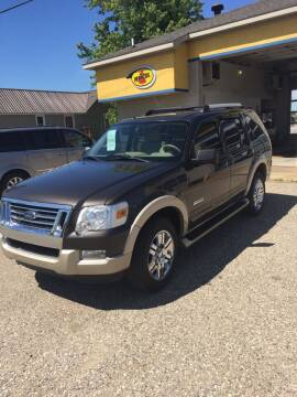 2007 Ford Explorer for sale at Hines Auto Sales in Marlette MI
