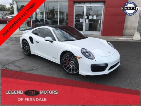2018 Porsche 911 for sale at Legend Motors of Waterford - Legend Motors of Ferndale in Ferndale MI