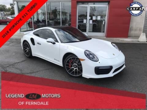 2018 Porsche 911 for sale at Legend Motors of Detroit - Legend Motors of Ferndale in Ferndale MI